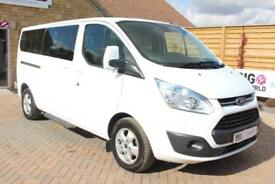 2015 FORD TOURNEO CUSTOM 300 TDCI 125 L2 H1 LIMITED 9 SEAT MINIBUS SWB LOW ROOF
