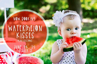 Watermelon Kisses Mini Sessions