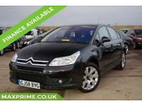 CITROEN C4 1.6 HDI VTR PLUS BLACK FULL HISTORY + JUST SERVICED WITH CAMBELT