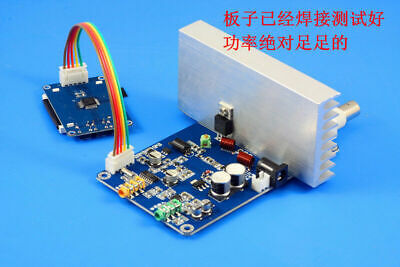 76m-108mhz 12v 15w Digital Led Radio Station Pll Stereo Fm Transmitter