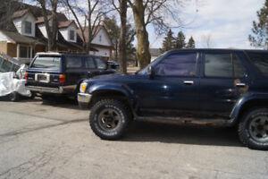 2  1995 toyota SR5 4runners $1700 o.b.o.