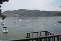 Walk Off the Deck and Onto the Beach - Okanagan Lake Condo