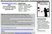 18th Annual Holy Trinity School Golf Classic Fundraiser Event
