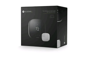 Brand new ecobee4 thermostat on sale for 240$ and 100$ rebate !!