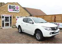 2017 MITSUBISHI L200 DI-D 178 4WD WARRIOR DOUBLE CAB WITH TRUCKMAN TOP PICK UP D