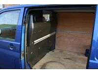 VW Transporter T5 Bulk Head Complete with nuts etc from a 2011 van