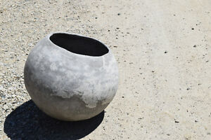 cool concrete planter for sale
