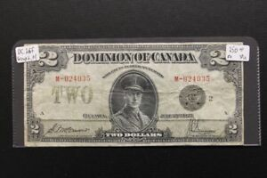 Canada 1923 $2 Bank Note
