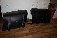 Harley Davidson lockable and detachable saddlebags for Sportster