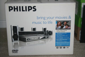 Phillips DVD Video Home Theatre System Model MX6050D
