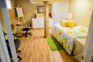 One bedroom basement suite available for rent immediately
