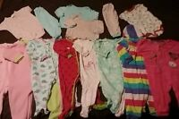 Excellent condition lot of baby girl clothes size 18m