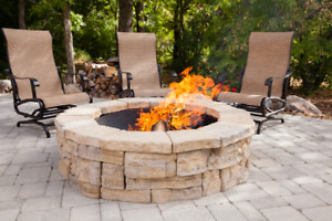 BUILD THE OUTDOOR FIREPIT OF YOUR DREAMS! L.Martin Garden Centre