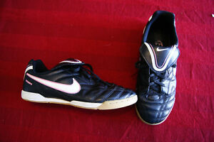 Nike & Adidas Indoor soccer shoes, sizes 4 and 8, $10