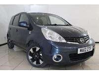 2012 12 NISSAN NOTE 1.6 N-TEC PLUS 5DR AUTOMATIC 110 BHP