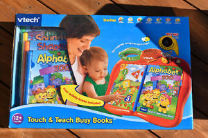 VTECH Touch & Teach Busy Books- BRAND NEW & GIFTABLE