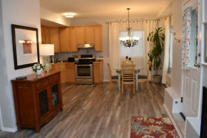 Deluxe, bright and spotless fully furnished 1 bdr. + den