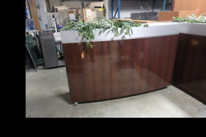 Office Entrance Rolling Divder Planter