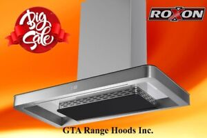 750CFM New Style Kitchen Range Hoods Kitchen Exhaust Fan on Sale