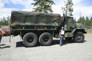1994 Deuce 6 wheel drive troop carrier