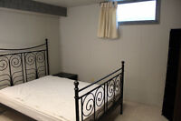 Basement Room To Rent - $600 plus an equal share of utilities