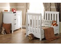 new boxed obaby lincoln mini cot bed