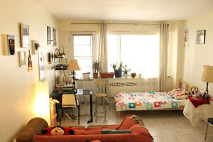 Beautiful sunny spacious decorated room for Sublet for May-June