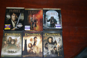 Hobbit & Lord of the Rings DVD set.
