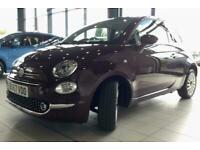 2017 Fiat 500 1.2 Lounge 3dr Hatchback Petrol Manual
