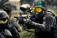 Paintball large groups only, your own equipment