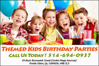 Awesome Themed Kids Birthday Parties