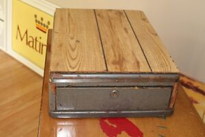 Early 1900s cash drawer