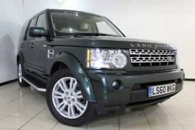2010 60 LAND ROVER DISCOVERY 4 3.0 4 TDV6 HSE 5DR 245 BHP DIESEL