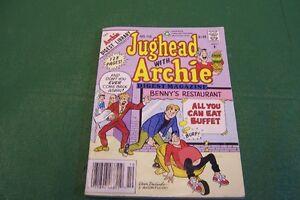 JUGHEAD   WITH   ARCHIE   DIGEST MAGAZINE YEAR  1992  NO  110
