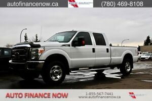 2011 Ford F-350 SD XLT CrewCab 4WD $176 biweekly CHEAP PAYMENTS