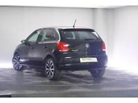 2013 Volkswagen Polo 1.4 (85ps) Match Edition 5-Dr Petrol black Manual