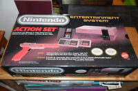 BOXED NES ORIGINAL NINTENDO SYSTEM – COLLECTOR CON PLASTIC WRAPS