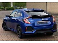 2018 Honda Civic 1.6 i-DTEC (120ps) SR (s/s) 5-Door Manual Hatchback Diesel Manu