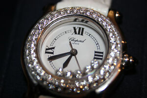 Chopard Happy Diamond Watch/Montre Chopard Diamand