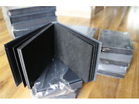 Pack of 5 6x4 inch 24 photo wedding parent albums or gift photo albums