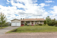 Spacious bungalow with garage and walkout basement