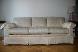 Year old couch, lightly used.