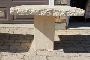 Matching stone coffee table and end table London Ontario image 6