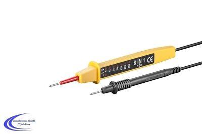 Spannungstester 6 bis 380 Volt - Polarität / Spannungsprüfer -