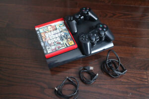 PlayStation 3 Bundle! - 2 Controllers + GTA IV!