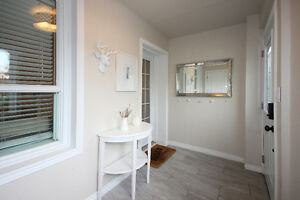 Beautifully Renovated 3 bedroom, 2 bathrooms home in bloor west