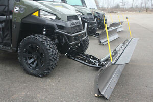 "66"" KFI Complete UTV Snow Plow Kit. Includes a 2yr warranty Windsor Region Ontario image 1"