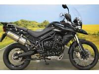 Triumph Tiger 800 XC 2013 ** ARROW EXHAUST, ABS, HEATED GRIPS, SUMP GUARD**