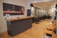 Coiffeur / coiffeuse / styliste , location de chaise