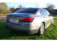 2013 BMW 5 Series 520d M Sport 4dr 4 door Saloon
